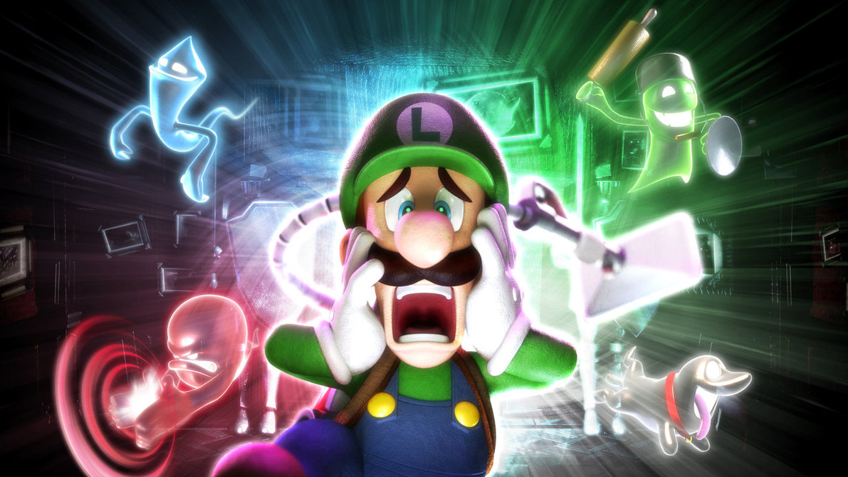 Luigi S Mansion Dark Moon It S Not Just Graphics