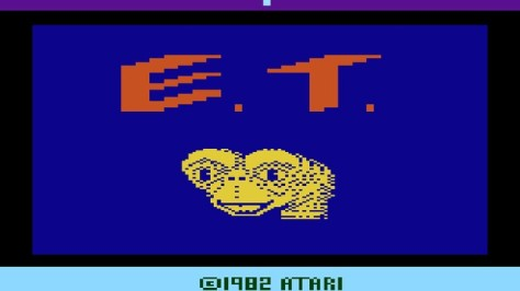 ET Atari 2600